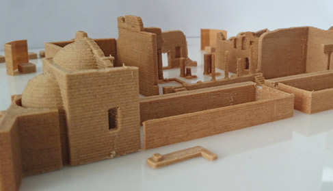 3D Models of architecture